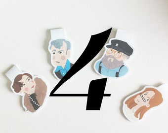Your Own set of 4 Bookmarks