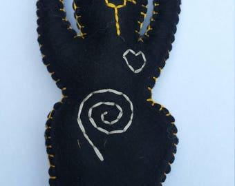 Bastet Goddess Doll