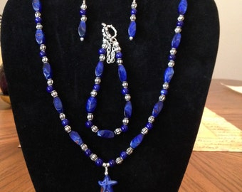 Blue Heaven jewelry set