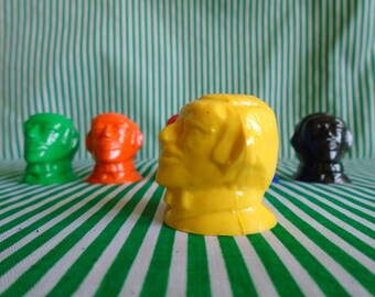 Set of 6 Plastic Heads