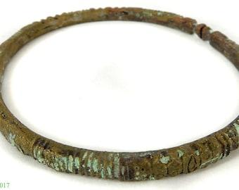 Dogon Brass Bracelet Mali Africa 116717