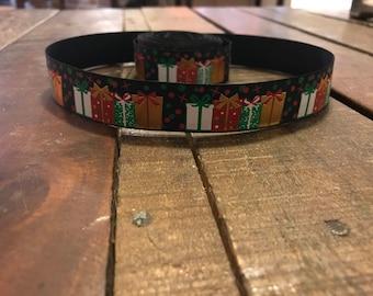 """1"""" Christmas Presents Collar"""