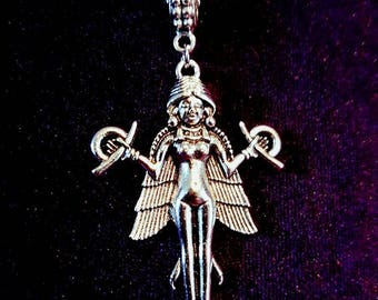 Lilith Mother of demons necklace - lilith vampire demonic demon satanic gothic occult lefthandpath samael inanna inana
