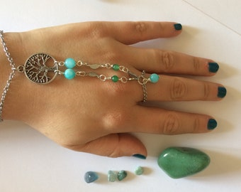 Jewel bracelet with Tree of life