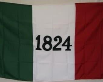 3x5 Embroidered Alamo 1824 Texas 600D 2ply Nylon Flag