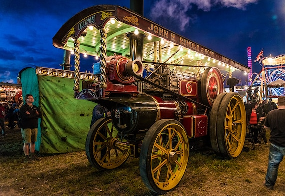 The Dorset Steam Rally,steam engine,dorset prints,Blandford pictures,limited edition print,photographic print