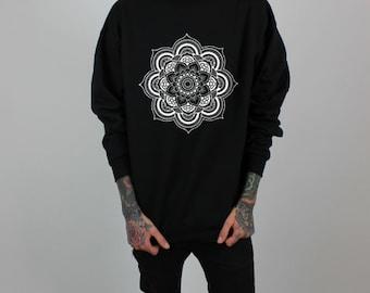 Mandala Crew neck Sweatshirt