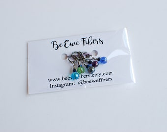Ocean Stitch Marker Set