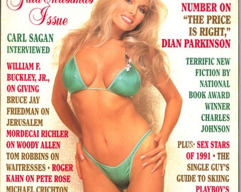 Playboy Magazine December 1991 Excellent Plus Condition Mature Dian Parkinson