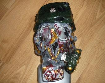 Biohazard latex gas mask