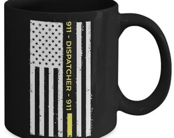 911 Dispatcher Public Safety Hotline Coffee Mug
