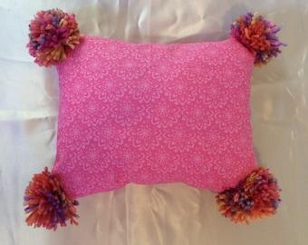 Pom Pom Pillow Etsy