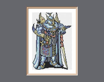 Exdeath Final Fantasy V Cross Stitch Pattern PDF instant download