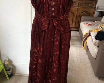 Creole Carmine tradition dress
