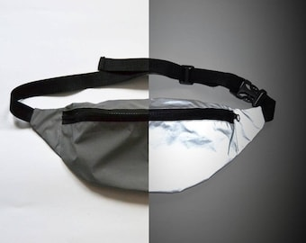 REFLECTIVE LAB Reflective Bum Bag Glowing Fanny Pack