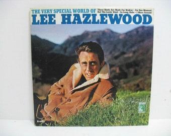 Lee Hazlewood The Very Special World of, Vintage Vinyl LP Record, WLP Promo