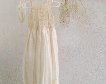 Beautiful robe fabric for girl