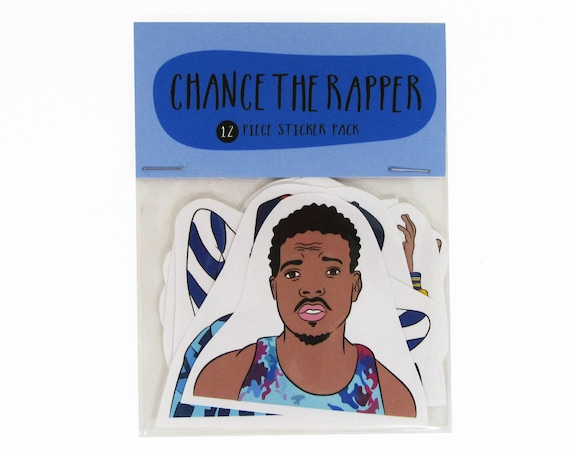 Chance The Rapper Poster Coloring Book