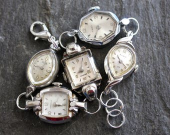Watch of Vintage Watches, victorian, antique, vintage, bracelet, jewelry, steampunk, up cycled repurposed