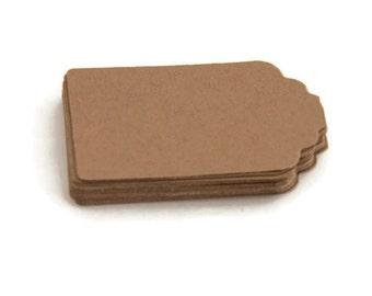 Brown tag - gift tag - small brown tag - favour tag - hang tag - christmas gift tag - scrapbooking