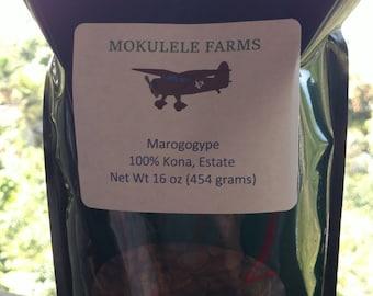 Kona Maragogype -- the Sweetest Kona Coffee Ever
