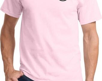 Men's Dodge Logo Pocket Print Textured Polo Tee T-Shirt 20420HL2-PP-ST690 GYTNwqL99M