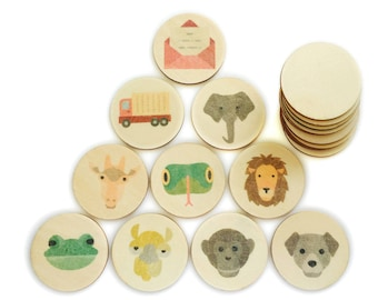 dear zoo - memory match | my little set | wooden game | story stones | memory match |