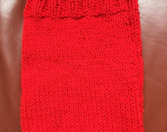 Ready to ship Ipad Cover Red Handknitted