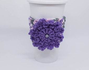 Cup Cozy. Cup Sleeve. Coffee Cozy. Coffee Sleeve. Tea Cozy. Free Shipping.