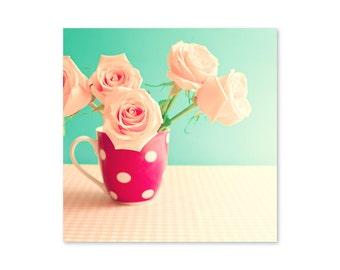 Girls room decor, blush pink wall art, canvas wall art, blush pink decor, spring decor, millennial pink, framed wall art, wall art canvas