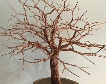 40cm copper tree