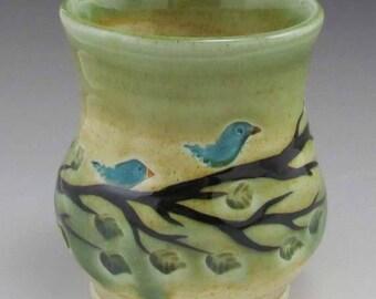 Blue Bird Juice Cup