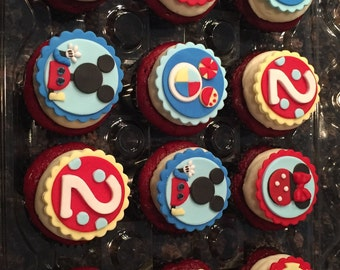 Mickey Mouse Clubhouse Cupcake Topper