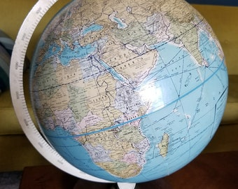 1980s Globe good condition wood base