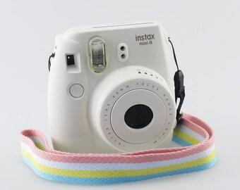 Strap pastel colors for Fujifilm Instax Mini 8 and Mini 8 Plus.