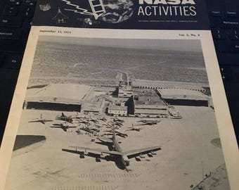 NASA ACTIVITIES Magazine: Sept 15 1974