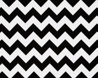 """Black chevron SALE Riley Blake designs  28"""" cut"""