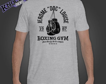 Doc Louise Boxing Gym - classic Punch Out shirt