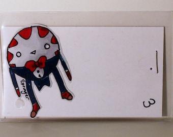 Peppermint Buttler Adventure Time Hand Made Custom Sticker