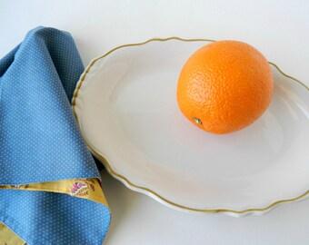 White Ironstone Platter. Restaurant Ware. Homer Laughlin. White Plate for Wall. Housewares. Vintage Farmhouse Decor. French Country Decor.
