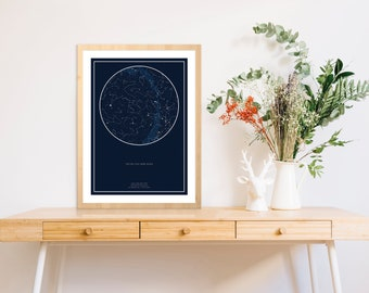 Constellation map etsy quick view gumiabroncs Image collections