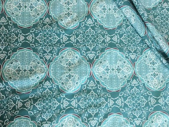 Art Gallery Fabrics Bari J Lacis Blueberry 1 yard remnants