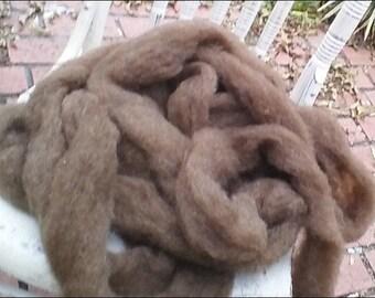 Purely Shetland, 100% Shetland Wool Roving-Hickory