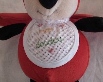 Hand embroidered Red Ladybug