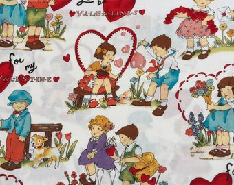 "Alexander Henry fabric ""for my valentine"" Fat Quarter yard or more"