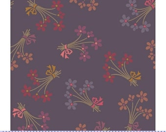 Marcus Nancy Rink On Plumberry Lane Purple Pink Floral Fabric 2274-0177 BTY