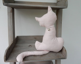 Décoration d'intérieur chat en coton