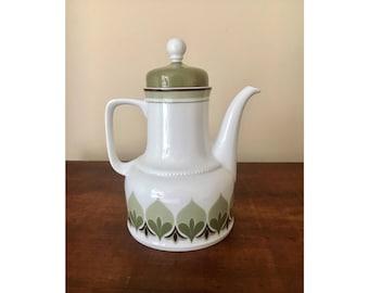 bavaria germany teapot or coffee pot retro pattern vintage