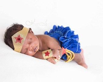 BABY/Toddler SUPERHERO Costume Accessories, Newborn/Toddler Super Hero Photo Prop