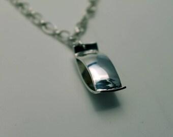 Open Sterling Silver Pendant